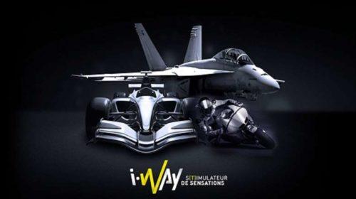 Vente privée simulateurs auto, moto et avion de chasse à Lyon I-Way