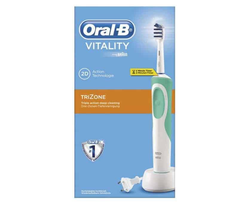 brosse à dents électrique Oral-B Vitality Trizone rechargeable