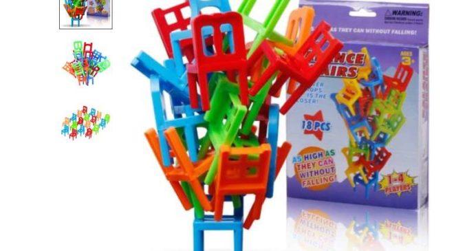 jeu des chaises en équilibres pas cher