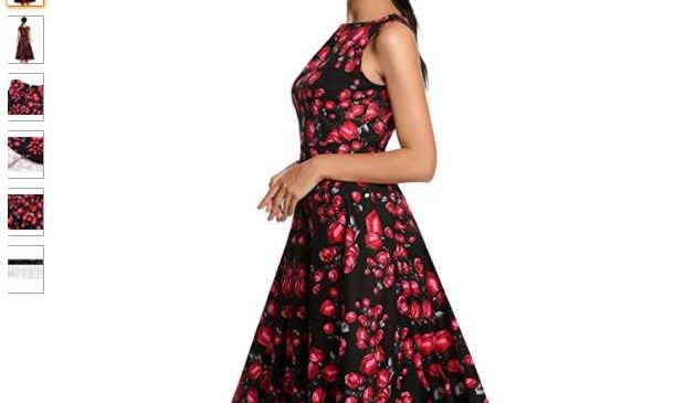la robe vintage Audrey Hepburn