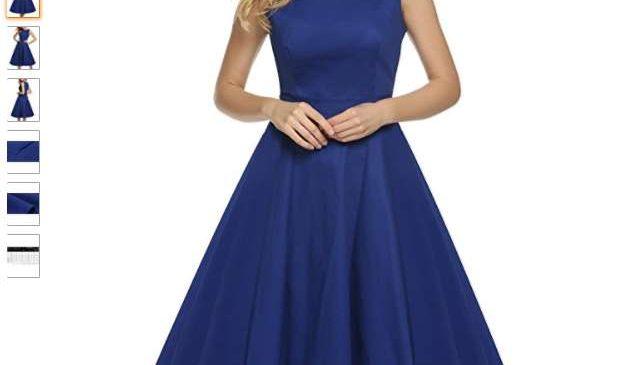 robe vintage Audrey Hepburn moitie prix