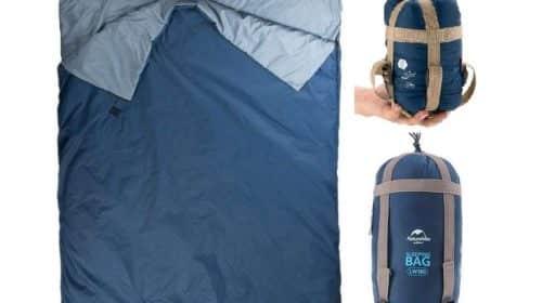 sac de couchage ultra compact et léger Lixada