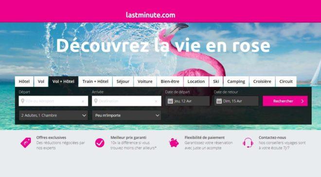 10€ de remise sur LastMinute