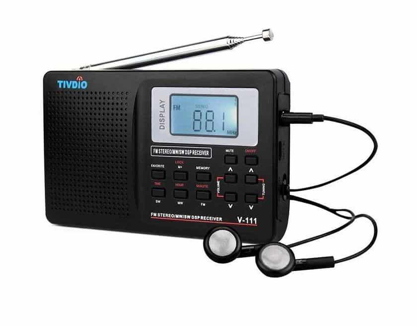 10€ la radio stéréo FM – SW – MW TIVDIO