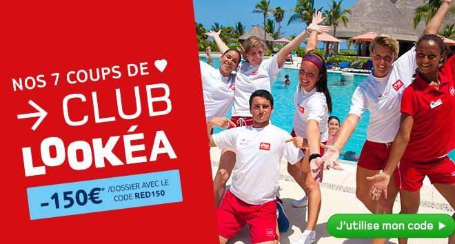 150€ de remise supplémentaires Club Lookéa