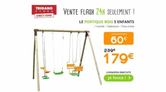 Portique trigano archives bons plans malins for Bon plan meuble gratuit