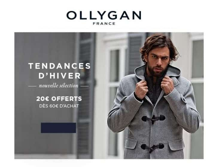 20€ de remise sur Olly Gan
