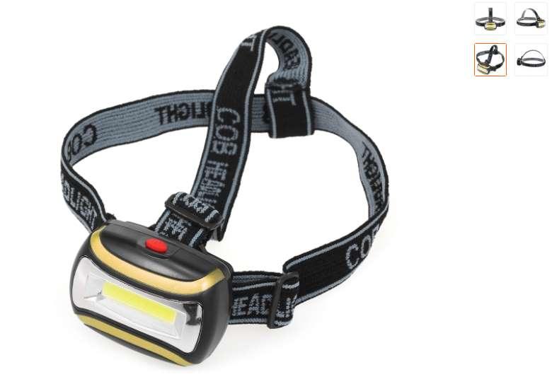 2,32€ la lampe frontale tête pivotante LED