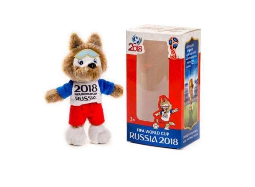 8,29€ mascotte coupe du monde de Foot Russia 2018 Zabivaka 20cm FIFA World Cup