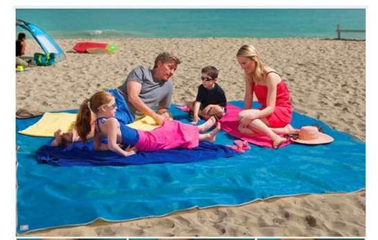 8,82€ la grande couverture de plage et camping ultra fine
