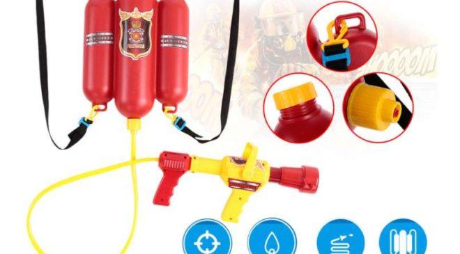9,12€ le pistolet pulvérisateur à eau de pompier