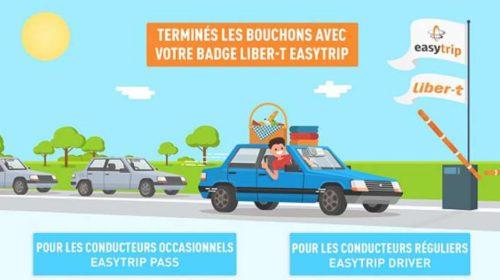 Badge télépéage Easytrip Pass ou Easytrip Driver