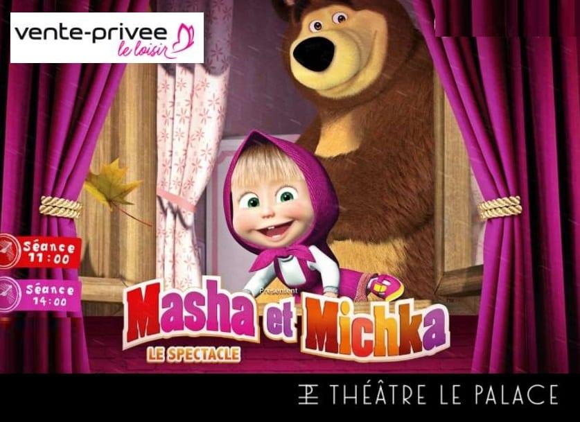 Billet Masha et Michka le spectacle pas cher