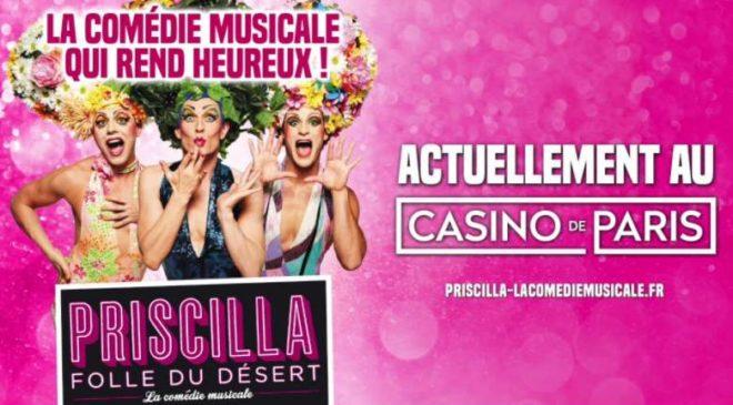 Billet comédie musicale Priscilla Folle du Désert pas cher