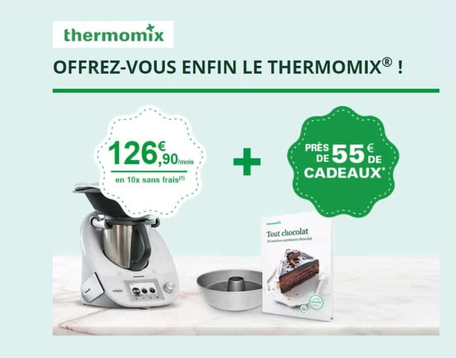 cr dit gratuit en 10 fois pour l achat d un thermomix 55 de cadeau. Black Bedroom Furniture Sets. Home Design Ideas
