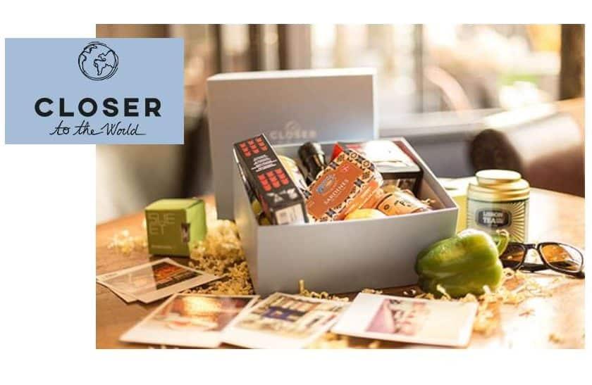 Découvrez la gastronomie du monde avec box Closer to the World