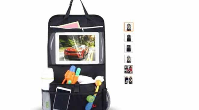 FLASH : 7,19€ organisateur siège arrière de voiture multipoches Intey universel