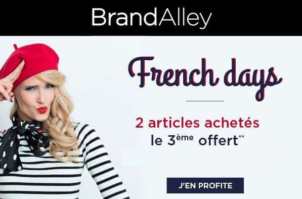 French Days Brandalley 3éme article gratuit