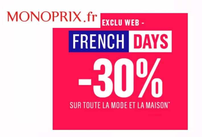 French Days Monoprix