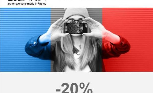 French Days Skinkin -20% sur tout le site