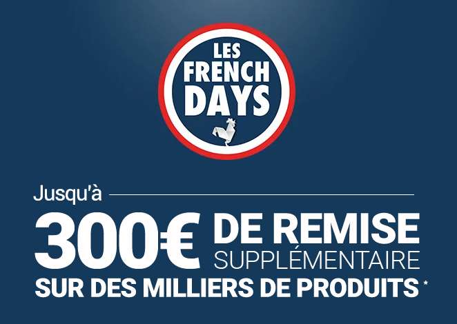 French Days de RueDuCommerce