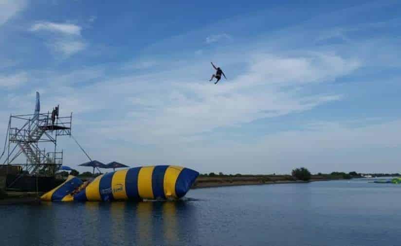 L'As Jump Aigues Mortes sauts en Blob Jump pas chers