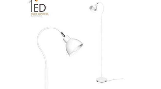 Lampe sur pied moderne LED Aglaia 25,79€