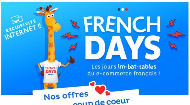 Les French Days Toys'R US