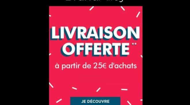 Livraison gratuite sur brandalley d s 25 d achats - Frais de port offert brandalley ...