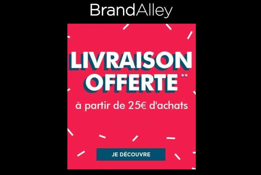 Livraison gratuite sur Brandalley dès 25€ d'achats