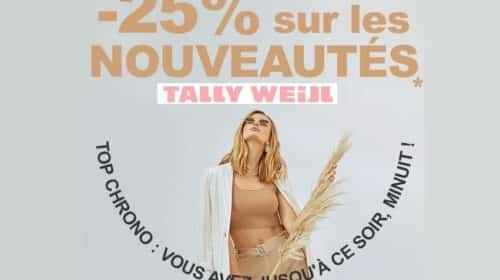 Nouvelle collection Tally Weijl réduction de 25%
