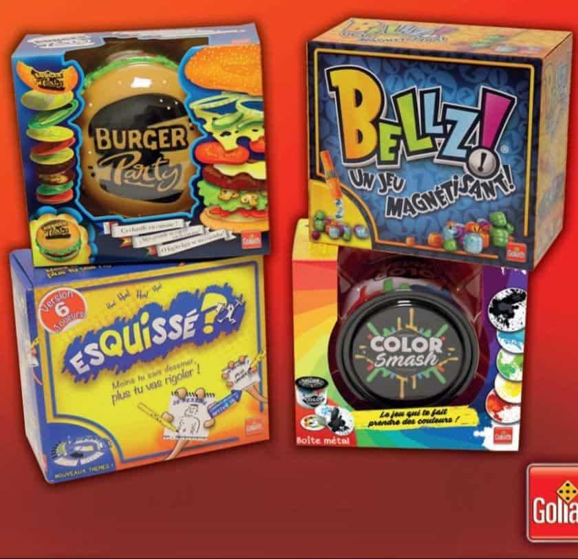 Offre 100% remboursé flash sur les jeux Color Smash, Bellz, Burger Party, Esquissé 6 joueurs