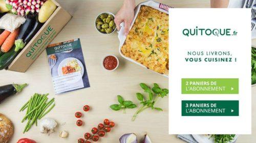 Paniers recettes Quitoque à moins 50%