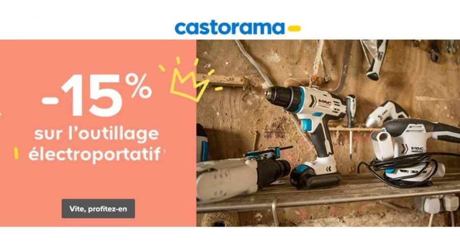 Remise Sur Les Outils 233 Lectroportatif De 15 Sur Castorama