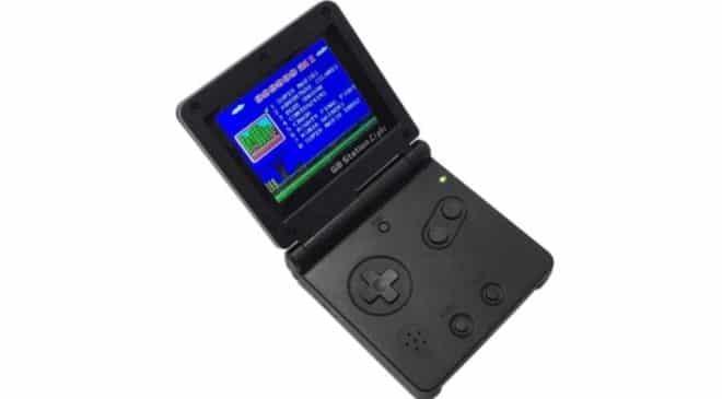 console de jeu portable retro GB Station Light avec 142 jeux