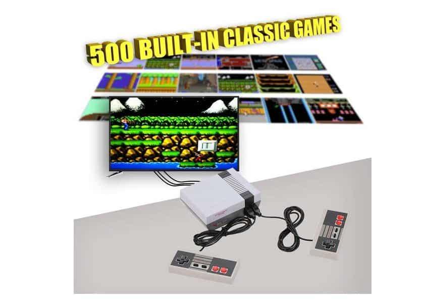 console retro NES mini 500 jeux inclus pas chère