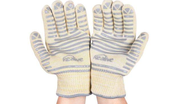 paire de gant anti-chaleur 300℃ Kealive