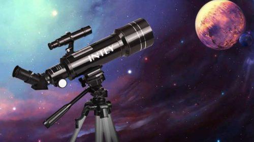 télescope astronomique Intey avec sac de transport