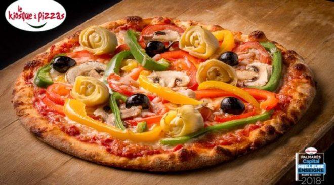 1 pizza = 1 pizza gratuite chez Le Kiosque à Pizzas