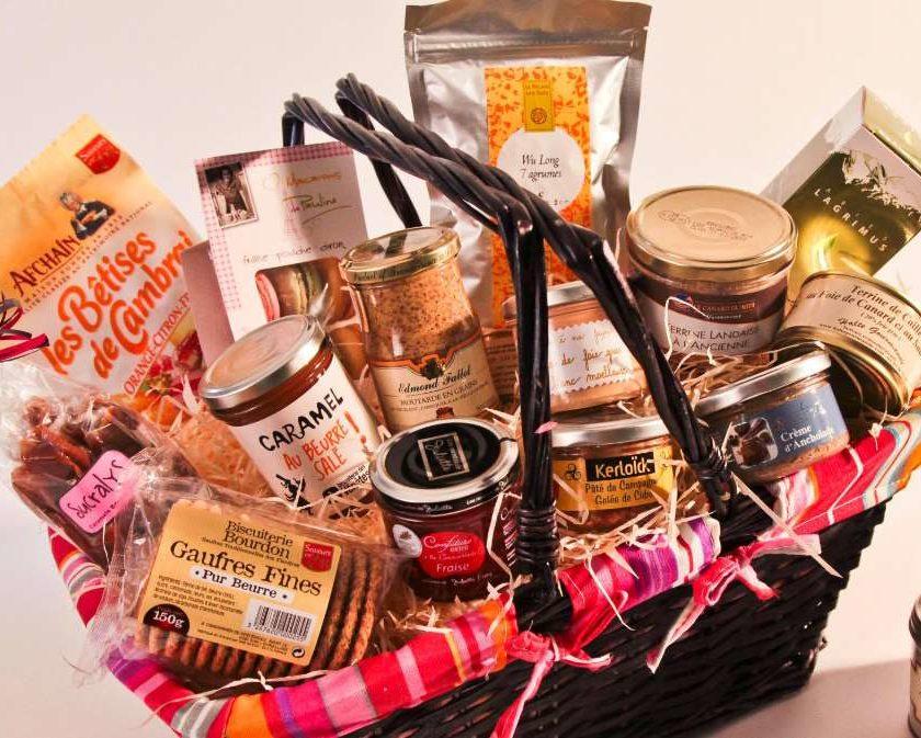 20% de remise sur Halte Gourmande paniers gourmands et épicerie fine