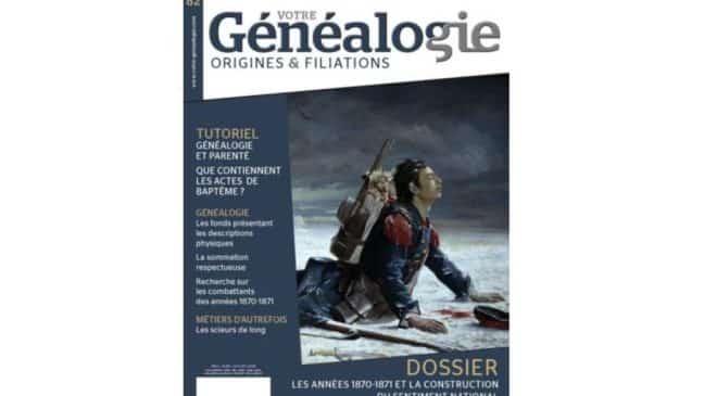 Abonnement magazine Votre Généalogie pas cher