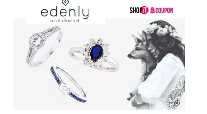 Bijoux Edenly 20€ le bon d'achat de 100€
