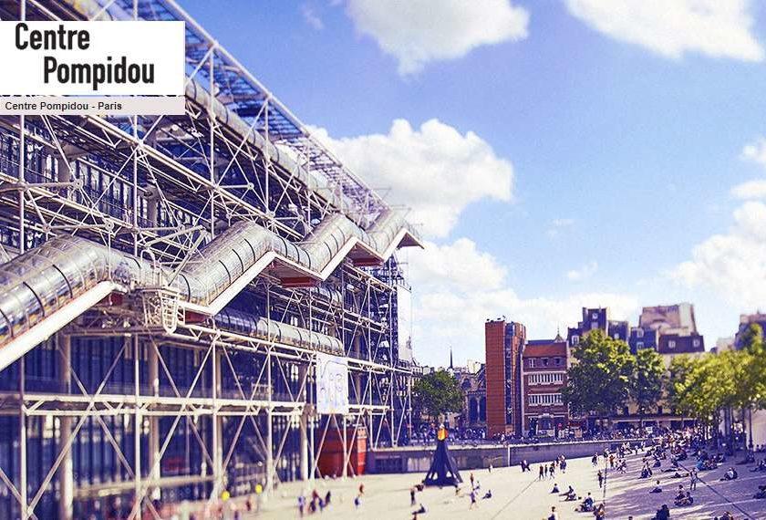 Billet centre Pompidou pas cher