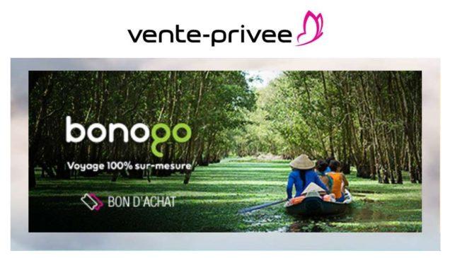 Bon d'achat Bonogo voyage sur-mesure