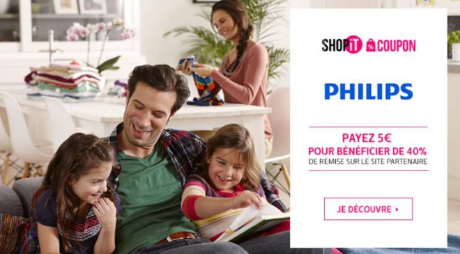Bon de réduction Philips Showroomprivé
