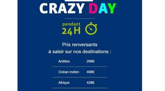 Crazy Day Corsair billets d'avion pas chers