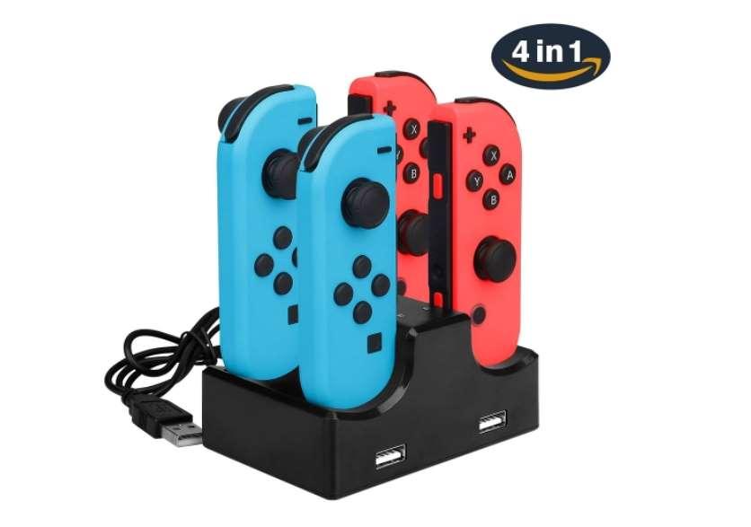 Encore moins cher station de charge pour Nintendo Switch Joy-Con