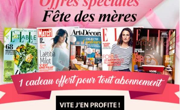 Paris match bons plans malins - Elle decoration abonnement ...
