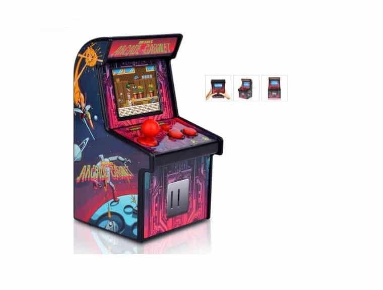 Moins 15€ le mini jeu arcade console retro avec 200 jeux