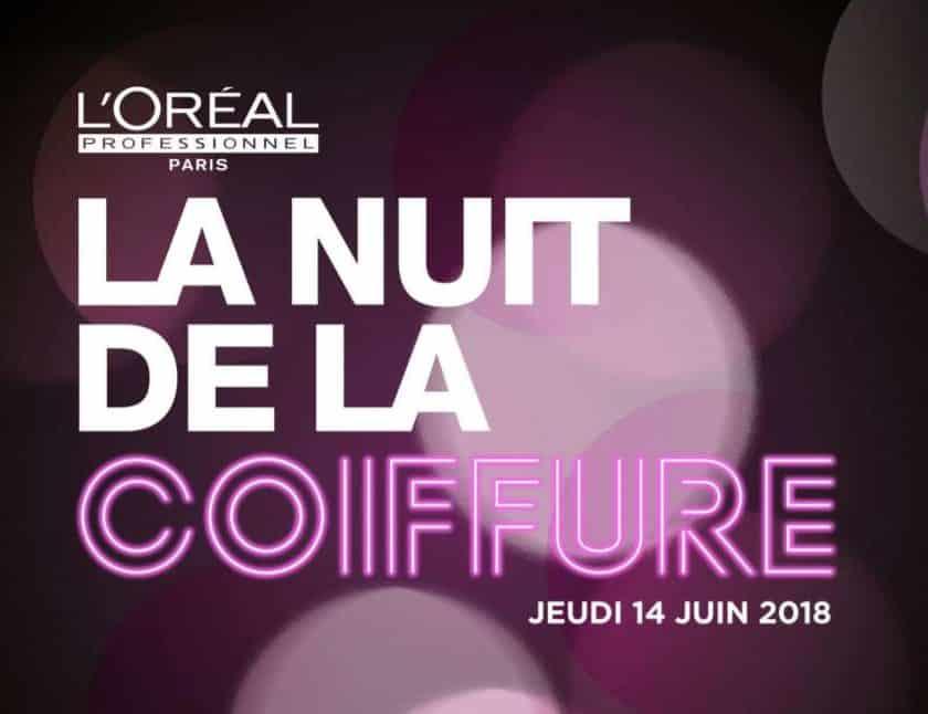 Nuit de la Coiffure 2018 de L'Oréal